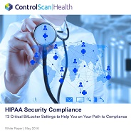 HIPAA Security Compliance White Paper